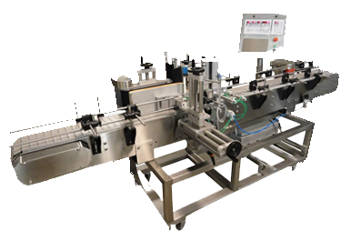 Series 3 OPEN Frame Labelers - Front and Back, Wrap Around Labeling Machine