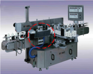 S3S Automatic Label Application Machine After Adding Wraparound Module