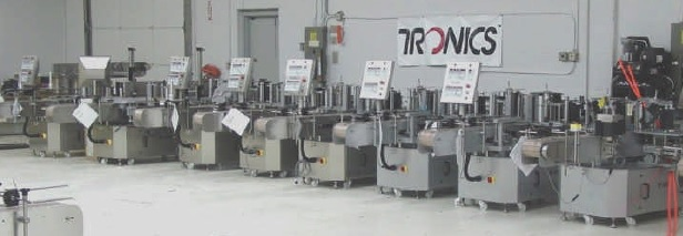 Automated Wrap Around Labeling Machines In-Stock for Sale
